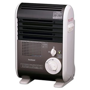 Iwatani (イワタニ) CB-GFH-1 カセットガスファンヒーター (電池・電源コード不要/安全装置搭載/風暖)