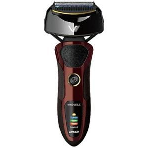 IZUMI (泉精器製作所) IZF-V66-T 往復式シェーバー 4枚刃 ブラウン 深剃りシリーズ Z-DRIVE VIDAN
