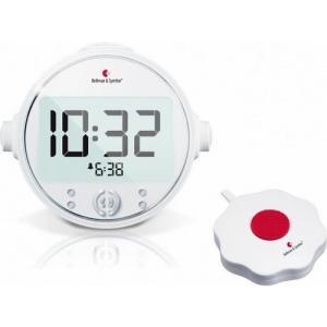 自立コム ベルマンアラームクロック プロ 多機能デジタル式目覚まし時計 BE1370
