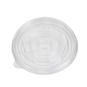 8オンス アイス&スープカップ用PPリッド (半透明)|kaicom
