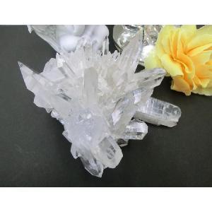 アメリカ アーカンソー産 最高級水晶(アーカンソー水晶)クラスター(2)|kaicrystal