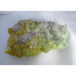 プレナイト(水晶、緑煉石)原石1|kaicrystal