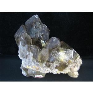 レア!良質 ルチル(ルチルクォーツ)クラスター1|kaicrystal