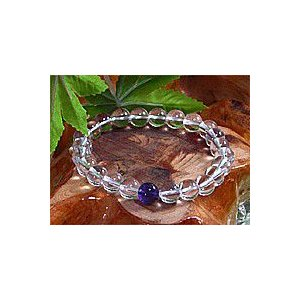 <天然水晶>23種類からお好みのポイント石が選べる水晶ブレスレット23色の中からあなたの好きな1色を|kaicrystal|03