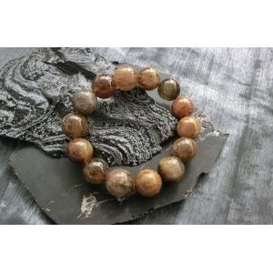 ルチルクォーツ(金紅石入り水晶)11ミリブレスレット16|kaicrystal