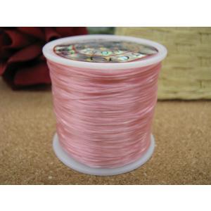 手作り用オペロンゴム 薄いピンク|kaicrystal
