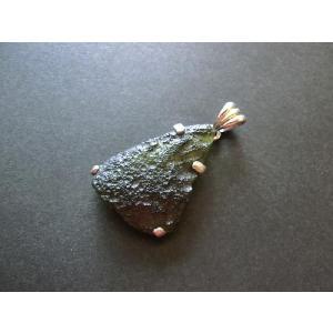 モルダバイトペンダントトップ(L)|kaicrystal