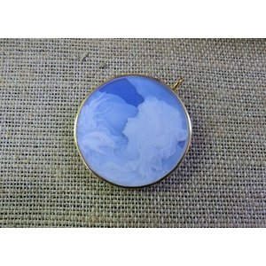 メノー(アゲート)カメオ(18金使用)|kaicrystal