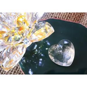 天然水晶サンキャッチャー用カットハート25×25mm|kaicrystal