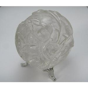 レア!良質!龍模様★水晶(クリスタル)丸玉|kaicrystal