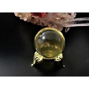 天然シトリン(黄水晶)丸玉|kaicrystal
