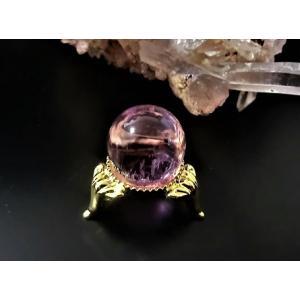 最高級 クンツァイト(リチア輝石)丸玉|kaicrystal
