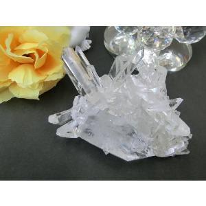 アメリカ アーカンソー産 最高級水晶(アーカンソー水晶)クラスター(1)|kaicrystal