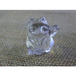 水晶招き猫1|kaicrystal
