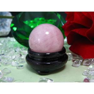 安い♪☆天然石☆小さめ☆ローズクォーツ(紅水晶)丸玉|kaicrystal
