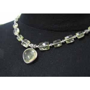 キラキラ&キュート!シトリン(黄水晶)ネックレス|kaicrystal