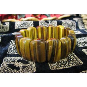 珍しいデザインブレス タイガーアイバングル風ブレスレット1 |kaicrystal