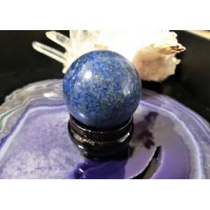 天然石★上質&神秘的 ラピス(瑠璃)丸玉|kaicrystal