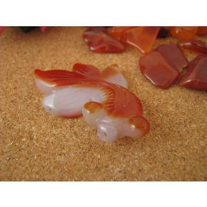 メノウ金魚 赤 アソート|kaicrystal