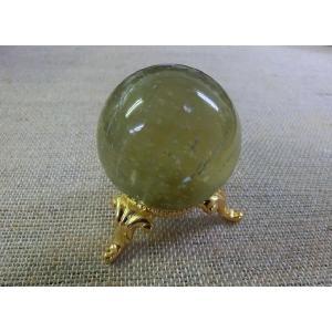 天然石 リビアングラス丸玉|kaicrystal