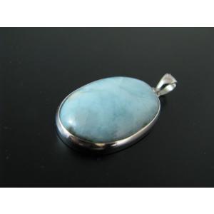 ラリマー(ペクトライト(ソーダ珪灰石))Silver925ペンダントトップ C|kaicrystal