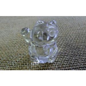 水晶招き猫2|kaicrystal