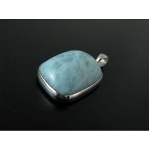 ラリマー(ペクトライト(ソーダ珪灰石))Silver925ペンダントトップ A|kaicrystal