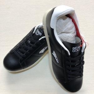 BEAMS x ブリジストン コラボモデル スパイクレス ゴルフシューズ 黒 26.5cm(新品未使用品)|kaida-club