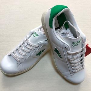 BEAMS x ブリジストン コラボモデル スパイクレス ゴルフシューズ 白 26.5cm(新品未使用品)|kaida-club