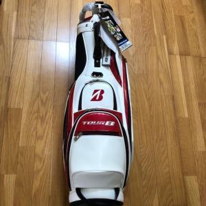 ブリヂストンゴルフ TOUR B キャディバッグ プロスタンドモデル 9.5型 CBG902(新品未使用品 フード付))|kaida-club