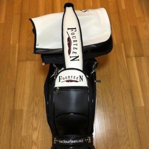 フオーテイーン プロモデルキャディバッグ CB0310 9.5型(プロ仕様 新品未使用品)|kaida-club