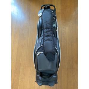 ジェイ リンドバーグ 9.5型 エナメル&ナイロン キャディバック黒(新品未使用品 フード付)|kaida-club