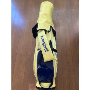 ルコック スポルティフ スタンドキャディバック ライトイエロー8.5型(新品未使用品 フード付)|kaida-club