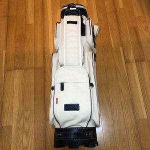 オノフ 帆布キャディバッグ8.5型 PB0115-04(綿、牛革製 新品未使用品) kaida-club