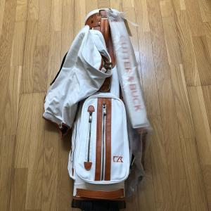 カッター&バック 帆布スタンドキャディバッグ9型(新品未使用品) kaida-club