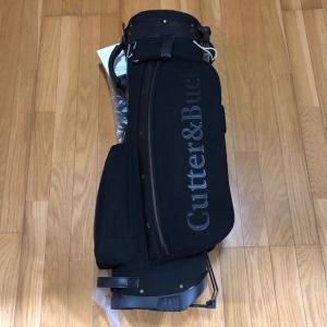 カッター&バック モノトーンブラック スタンドキャディバック 9型(新品未使用品) kaida-club