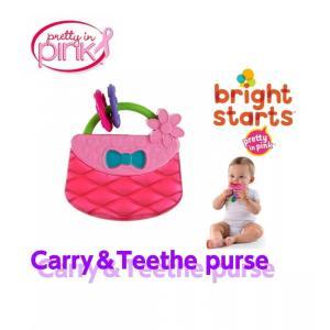 ブライトスターツ Brightstarts キャリー&ティーズ★歯固め 大人気!手提げバッグ おもちゃ |kaidou308