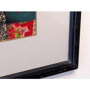 【GINZA絵画館】智内兄助 さしえの原画「蔵:ひそひそ」宮尾登美子作・毎日新聞連載小説・第128回・1点もの kaigakan-shopping 05