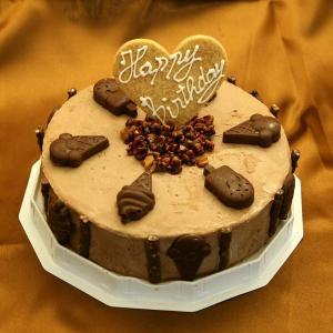 チョコレートアイスケーキ6号 お誕生日アイスケーキ
