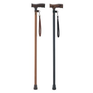ベストステッキー(杖・つえ)アルミ軽量固定タイプ径22mm 長さ84cm 身長約160cm台|kaigo-scrio