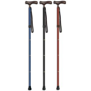 伸縮4段折りたたみ杖 カイノスT-1長さ79〜89cm 身長約150〜170cm kaigo-scrio