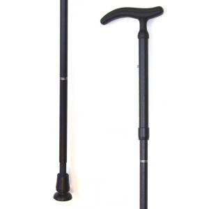 伸縮折り畳み杖アクティブ グリップサイズM男性向け グッドデザイン 長さ80〜90cm 身長約150〜170cm kaigo-scrio