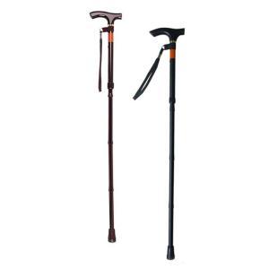 ピッチ付折りたたみ式杖 E-248 長さ81.5〜91.5cm身長約160〜180cm kaigo-scrio
