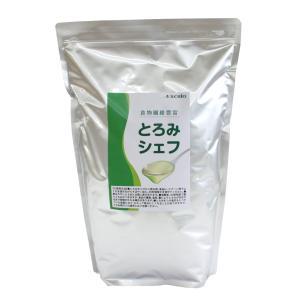 介護食 嚥下補助 トロミ調整剤 とろみシェフ 2kg 食物繊維豊富 kaigo-scrio