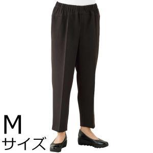 婦人ストレッチCラインパンツ Mサイズ 2枚セット ミセス・シニア 39493 背中をカバー|kaigo-scrio