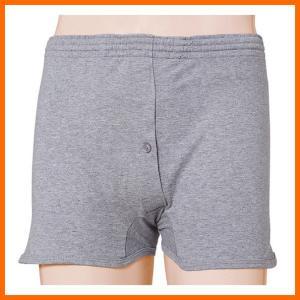 片倉工業 紳士吸水ニットトランクス 失禁パンツ 吸水量30cc 2枚セット LL|kaigo-scrio