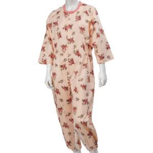 介護つなぎパジャマ婦人 オールシーズン|kaigo-scrio