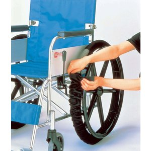 車いす車輪カバー|kaigo-scrio