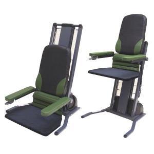 電動昇降椅子 立ち上がり補助椅子 独立宣言 ローザ ワイドシート仕様(DSRS-W)|kaigo-scrio