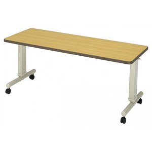 施設向けテーブル DTC-1660 高さ調節折りたたみ可能 幅160cm|kaigo-scrio
